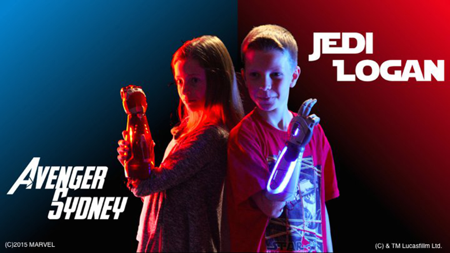 ILMxLAB Teams with Open Bionics to create Disney-inspired bionic hands for amputee kids
