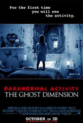 Paranormal Activity: The Ghost Dimension Credits