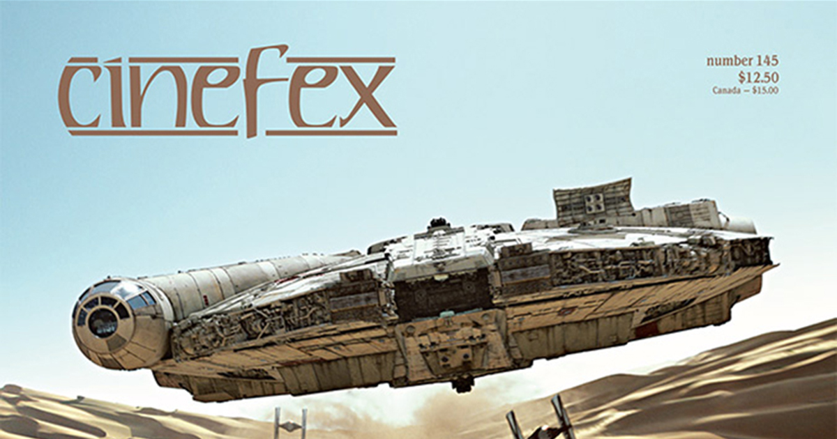 Cinefex Reveals Cover for Issue 145