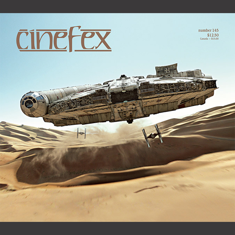 Cinefex Reveals Cover for Issue 145