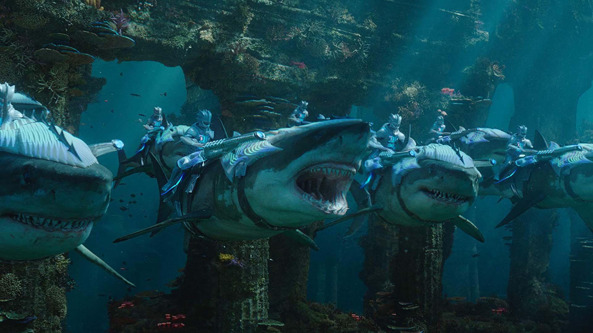 Aquaman Credits