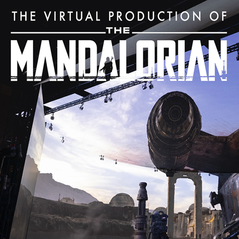 Groundbreaking LED Stage Production Technology Created for Hit Lucasfilm Series 'The Mandalorian'
