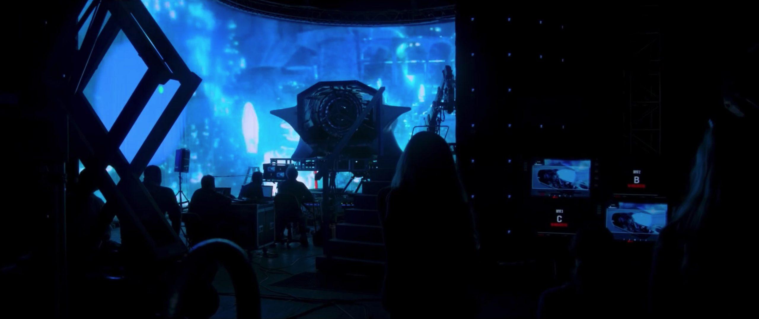 AquaMan-LED Production Shot